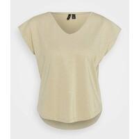 Vero Moda Petite VMSHINE T-shirt basic birch/gold VM021D01E
