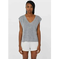 Stradivarius 05020085 Top grey STH21E0HT