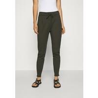 Vero Moda VMEVA LOOSE STRING PANTS Spodnie materiałowe dark green VE121A0K8