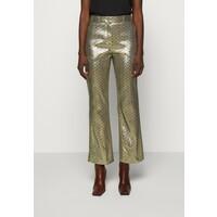 M Missoni PANTALONE Spodnie materiałowe silver MM321A00R