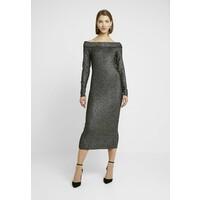ONLY ONLETTA DRESS Sukienka etui black/silver ON321C1K5
