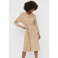 Vero Moda GLITZER Sukienka koszulowa beige VE121C2C1
