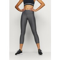 Under Armour HI RISE CROP Legginsy charcoal light heather UN241E0G0