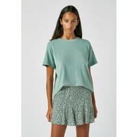 PULL&BEAR T-shirt basic green PUC21D18F