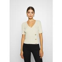 EDITED GIULIA T-shirt z nadrukiem beige EDD21E059