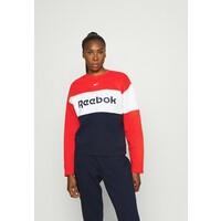 Reebok LINEAR LOGO CREW Dres red RE541K016
