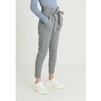 Vero Moda VMEVA LOOSE PAPERBAG PANT Spodnie materiałowe medium grey VE121A0MX