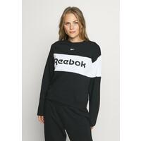 Reebok LINEAR LOGO CREW Dres black RE541K016