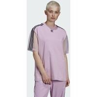 adidas Originals T-SHIRT T-shirt z nadrukiem purple AD121D0U7
