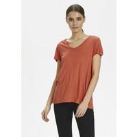 Kaffe ANNA V NECK T-shirt basic dull orange KA321D03Z