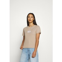 Tommy Jeans LOGO TEE T-shirt basic soft beige TOB21D086