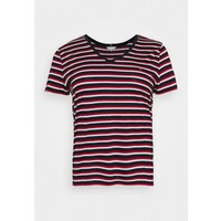 Tommy Hilfiger Curve RELAXED V NECK T-shirt basic ombre/red/white/blue TOY21D007
