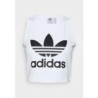adidas Originals CROPPED TANK Top white AD121D0PL