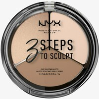 Nyx Professional Makeup 3 STEPS TO SCULPT Konturowanie 1 fair NY631E01H