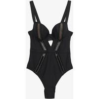 Ann Summers THE SUNSEEKER SWIMSUIT Kostium kąpielowy black ANE81G003
