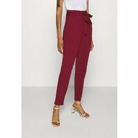 Vero Moda VMEVA LOOSE PAPERBAG PANT Spodnie materiałowe cabernet VE121A0MX