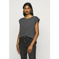 ONLY Petite ONLPERNILLE SHOULDER T-shirt basic dark grey OP421E05E