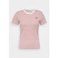 Levi's® BABY TEE T-shirt z nadrukiem pearl poppy red LE221D08O