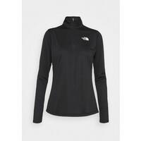 The North Face FLEX 1/4 ZIP Bluzka z długim rękawem black TH341D03L