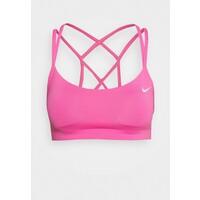 Nike Performance FAVORITES STRAPPY BRA Biustonosz sportowy pink glow/white N1241I06L
