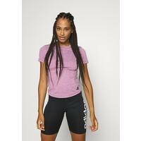 adidas Performance TEE T-shirt basic purple AD541D1CA