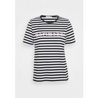 Marimekko LOGO LYHYTHIHA MARI T-shirt z nadrukiem black M4K21D00T