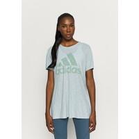 adidas Performance WIN TEE T-shirt z nadrukiem mint AD541D1JI