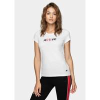 4F T-shirt damski H4Z20-TSD019-10S