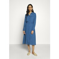 Moss Copenhagen CADDY BEACH DRESS Sukienka koszulowa blue horizon M0Y21C04I