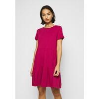 GAP Petite TIERD Sukienka z dżerseju ruby pink GAG21C00D