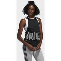 adidas Performance ALPHASKIN GRAPHIC TANK TOP Top black AD541D1GG