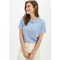 DeFacto DEFACTO WOMAN T-shirt basic blue DEZ21D03C