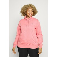 ONLY Play ONPELINA HIGH NECK CURVY Bluza rozpinana pink NL241F01E
