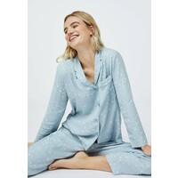 OYSHO STAR SHIRT Koszulka do spania light blue OY181Q0OV