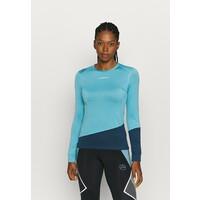 La Sportiva DASH LONG SLEEVE Koszulka sportowa pacific blue/opal LAN41I003
