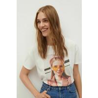 Mango T-shirt Psstrasi -100-TSD01L