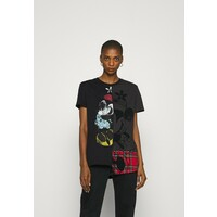 Desigual MICKEY MINNIEMIX T-shirt z nadrukiem black DE121D0MM