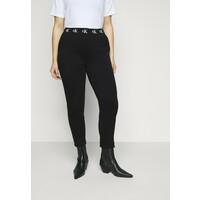 Calvin Klein Jeans Plus LOGO TRIM PANT Legginsy beh C2Q21A000