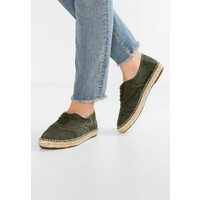 Natural World INGLES Espadryle kaki NW111E00G
