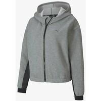 Puma Kurtka sportowa medium gray heather PU141G076