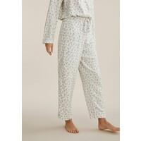OYSHO Spodnie od piżamy white OY181O0RF