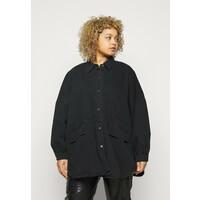 Missguided Plus POCKET Koszula black M0U21E038