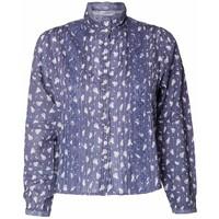 LoveShackFancy Koszula LOVESHACKFANCY SINCLAIR LT560454-blue-jean