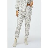 OYSHO DITSY FLORAL Spodnie od piżamy white OY181O0PY