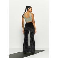 Onzie BELL PANT Spodnie materiałowe black ON241E021