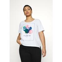 Persona by Marina Rinaldi VALDO T-shirt z nadrukiem bianco ottico PQ021D01Q