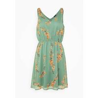 Vero Moda VMWONDA NEW SINGLET SHORT DRESS Sukienka letnia olive VE121C294