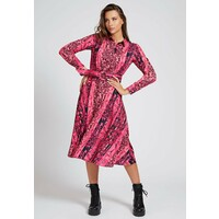 Guess Sukienka koszulowa mehrfarbe rose GU121C0XC