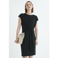 InWear KETTYIW Sukienka z dżerseju black IN321C09E