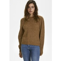 Part Two Sweter hazel brown melange P2121I04X